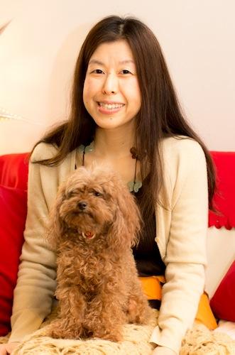 小和田さんと愛犬のショコラ