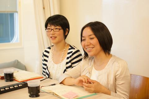 八田さんと野本さん