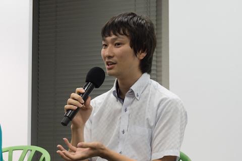 浜松市役所からスペースマーケットに出向中の阿部隼也さん