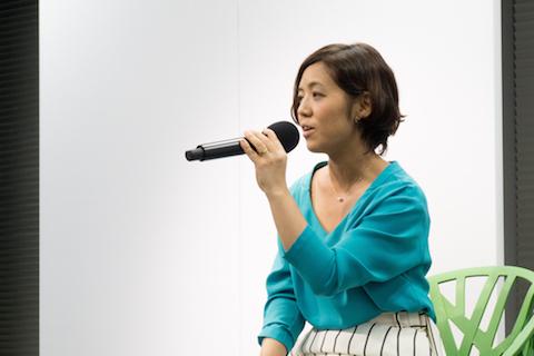 LUXAからKDDIに出向中 瀬尾萌さん