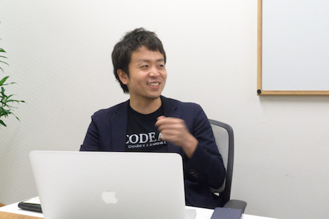 コデアル株式会社 CEOの愛宕翔太さん