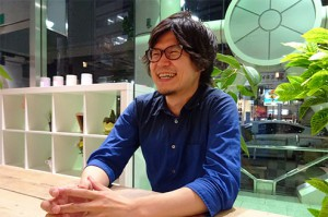 井村さんがリニューアルデザインしたというLiBのロゴマーク