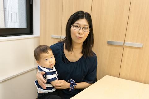 石渡さんとお子さん