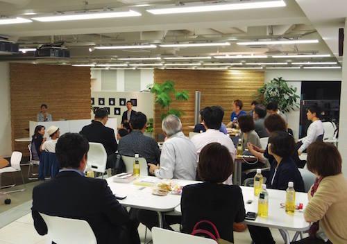 テレワーク導入を検討中の方から専門家の方まで、様々な立場の方が参加してくださった10月10日の「連携カフェ」。