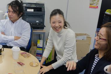 横尾さん(中央)
