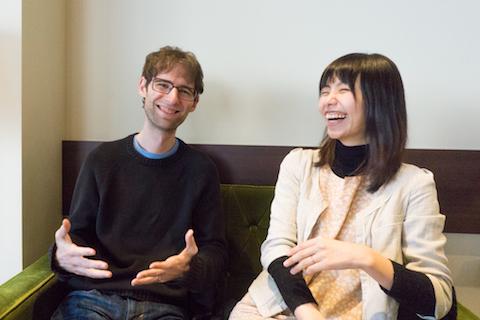 ダン・ロイさんと塩谷雅子さん
