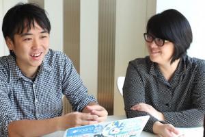 ラフノート 西小倉さんと中山さん