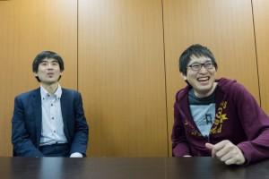 株式会社オトバンク 久保田社長と佐藤CTO