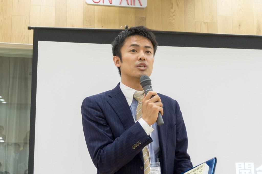 NPO法人クロスフィールズ 代表理事 小沼大地氏